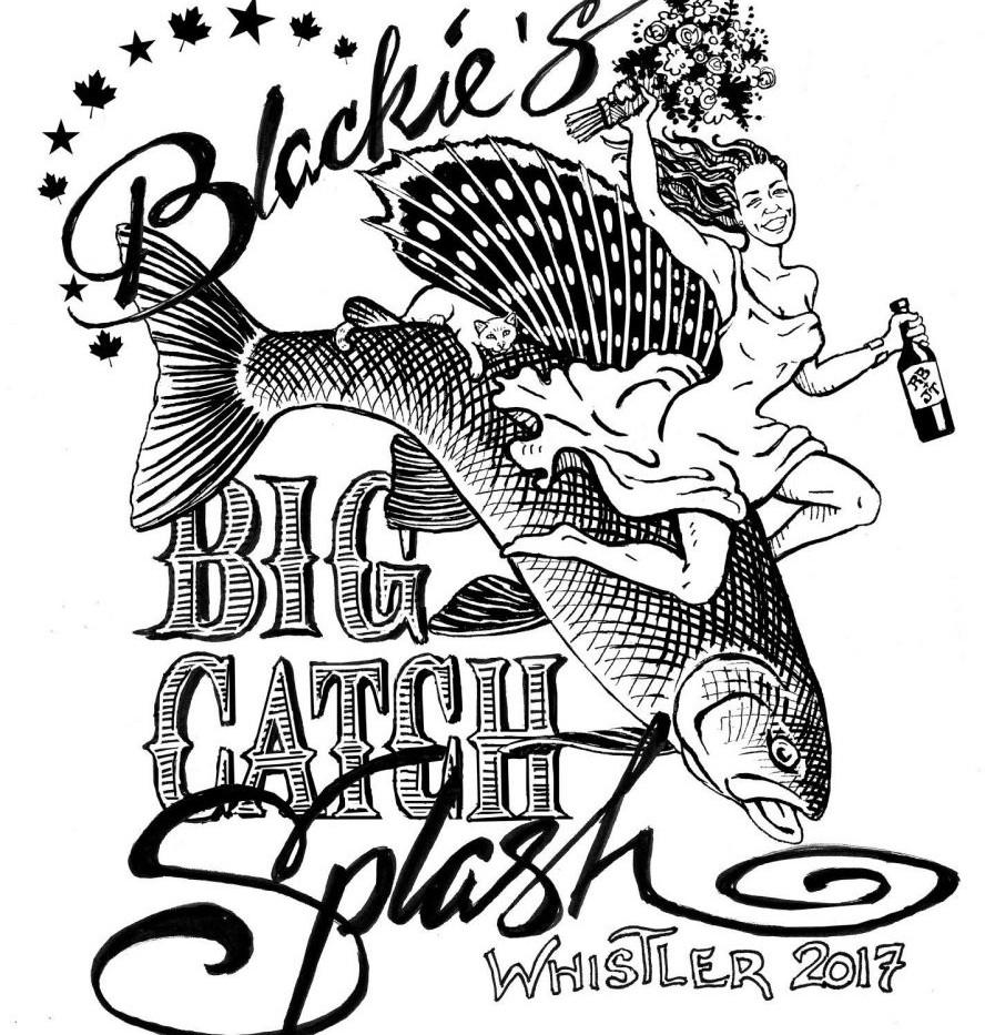 Blackie's Big Catch Splash