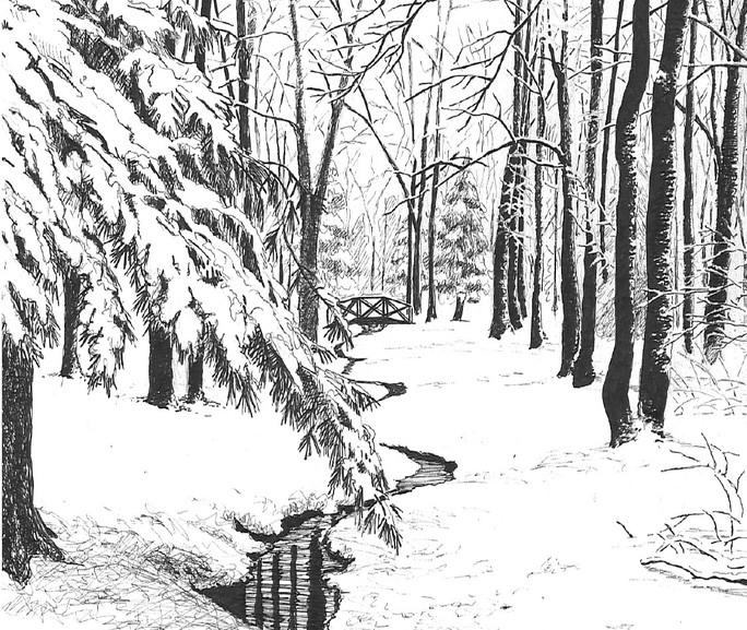 Stony Brook Winter