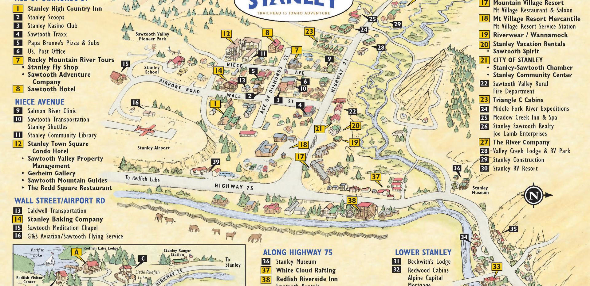 Stanley Chamber Map