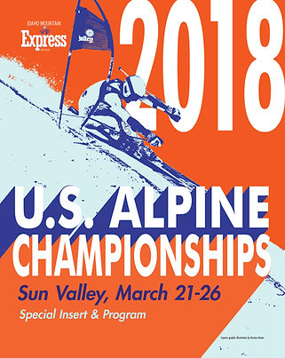 Cover art for Mt. Express's 2018 U.S. Alpine Championship Special