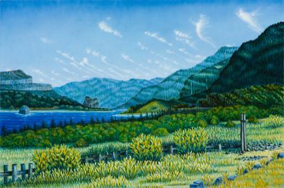 Columbia Gorge View