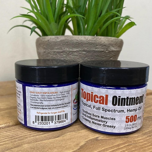 Topical Cream 500mg 2oz Jar
