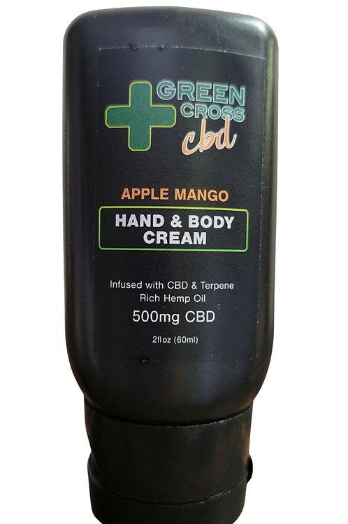 Apple Mango Hand And Body Cream 500mg CBD