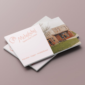 Folder voor Steinerschool Turnhout