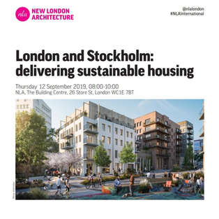 NLA Sustainable Housing: London and Stockholm