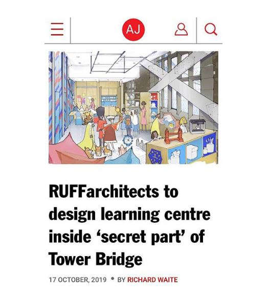 Tower Bridge Education Centre featured in the AJ