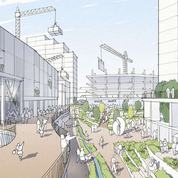 Competition: Wandsworth Gasworks