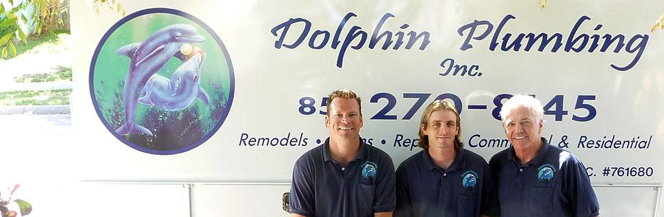 Dolphin Plumbing Service Team