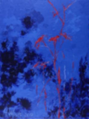 Anna Wode, art, kunst, contemporary, mots rouges