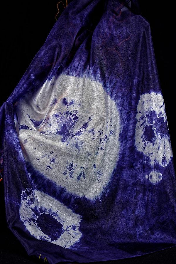 Batik, foulard, soie, silk, Anna Wode