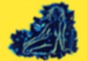 Troi graces 3, blue line jaune.jpg