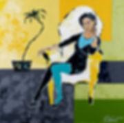 A la maison, Anna Wode, Kunst, art