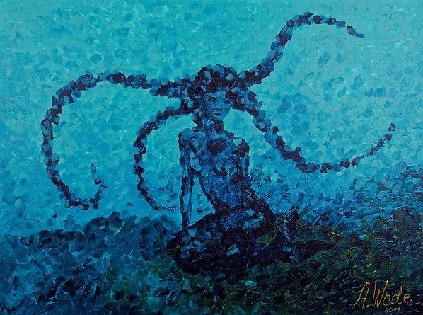 Sirène, Sirene, mermaid, Anna Wode