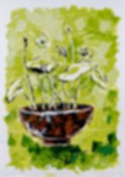 Iris, Anna Wode, art, Kunst