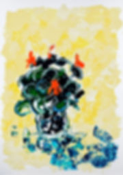 Capucines, Anna Wode, art, Kunst