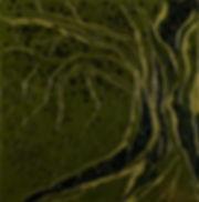 Anna Wode, painting, peinture, Bild, arbre de vie, mixte line