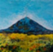 Anna Wode peinture painting art etna