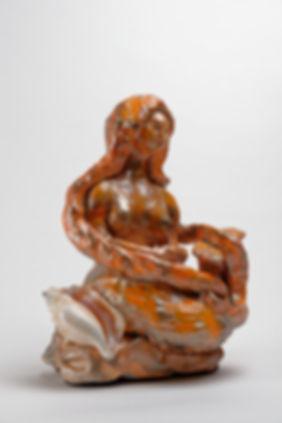 Sirène au coquillage, Sirene, mermaid, Anna Wode
