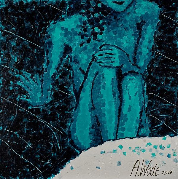 Anna Wode, peinture, painting, fragment