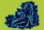 Troi graces 3, blue line vert.jpg
