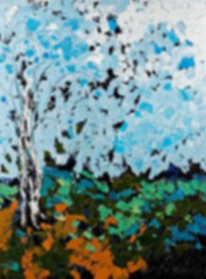 Anna Wode, art, contemporain, contemporary, Paysage automnal, Kunst