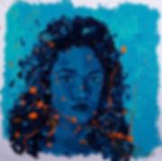 Anna Wode peinture painting art lapidation