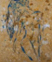 Anna Wode, sujet nue beige, mixte line, femme