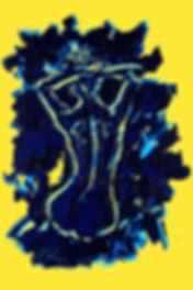 3 graces - 2, blue line jaune2.jpg