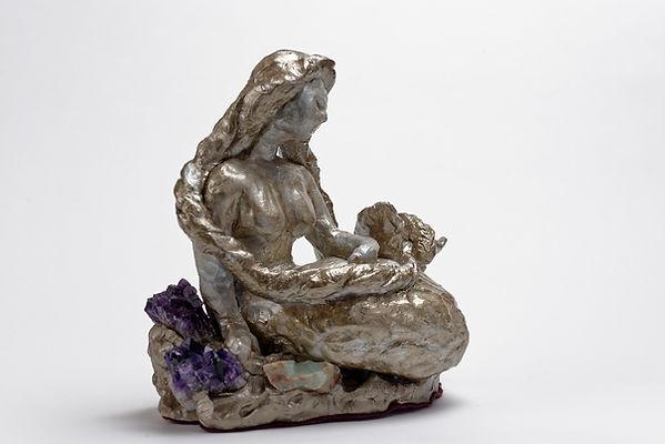 Sirène aux améthystes, Anna Wode, Sirene, mermaid