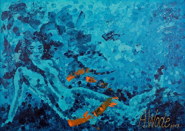 Anna Wode, Sirene, Sirène, mermaid, mystère, sea, mer