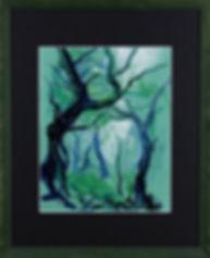 Foret pastel encadre noir.jpg