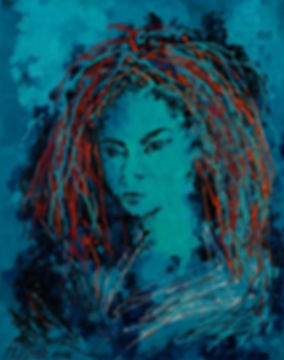 Anna Wode, art, kunst, contemporary, rainbow, painting