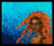 Sirene namibiénné, Anna Wode, art, Kunst