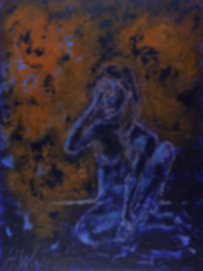 Anna Wode, art, kunst, contemporary, attente