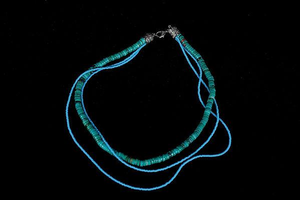 Bijoux, bijoux fantaisie, bleu, blue, howlite, Anna Wode, jewellery