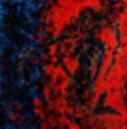 Anna Wode, peinture, painting, Sirene, mermaid, rouge, red