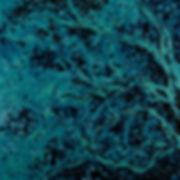 Anna Wode, peinture, painting, Bild, La forêt bleue, blue line, bleu, blue