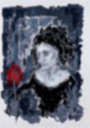 Fleur ecarlate, Anna Wode, art, Kunst