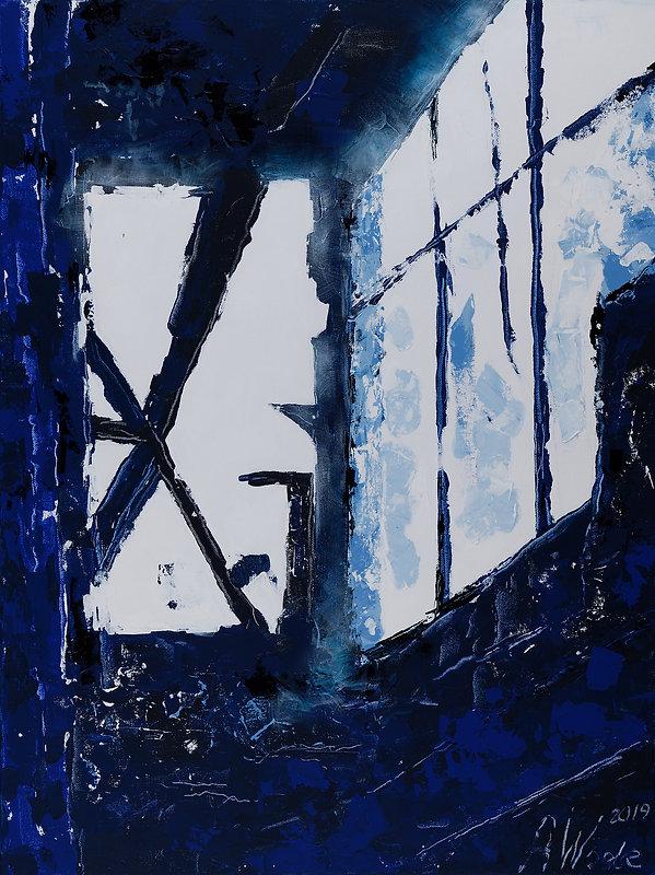 Entre 2 mondes.jpg, Anna Wode, artist, painting, art, contemporary, Kunst