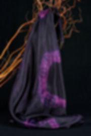 Batik, Anna Wode, soie, silk, foulard