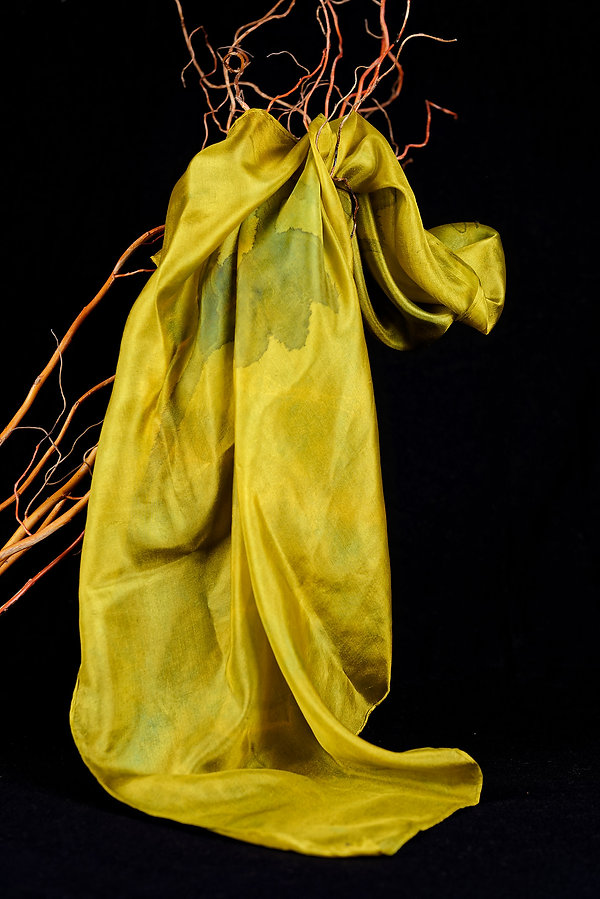 Foulard,  batik, Anna Wode, soie, silk