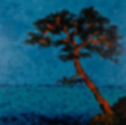 Anna Wode peinture painting pin art