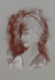 Vintge, pastel, Anna Wode, art, Kunst