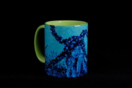 Mermaid tasse, Anna Wode, mug, Sirene, Sirène
