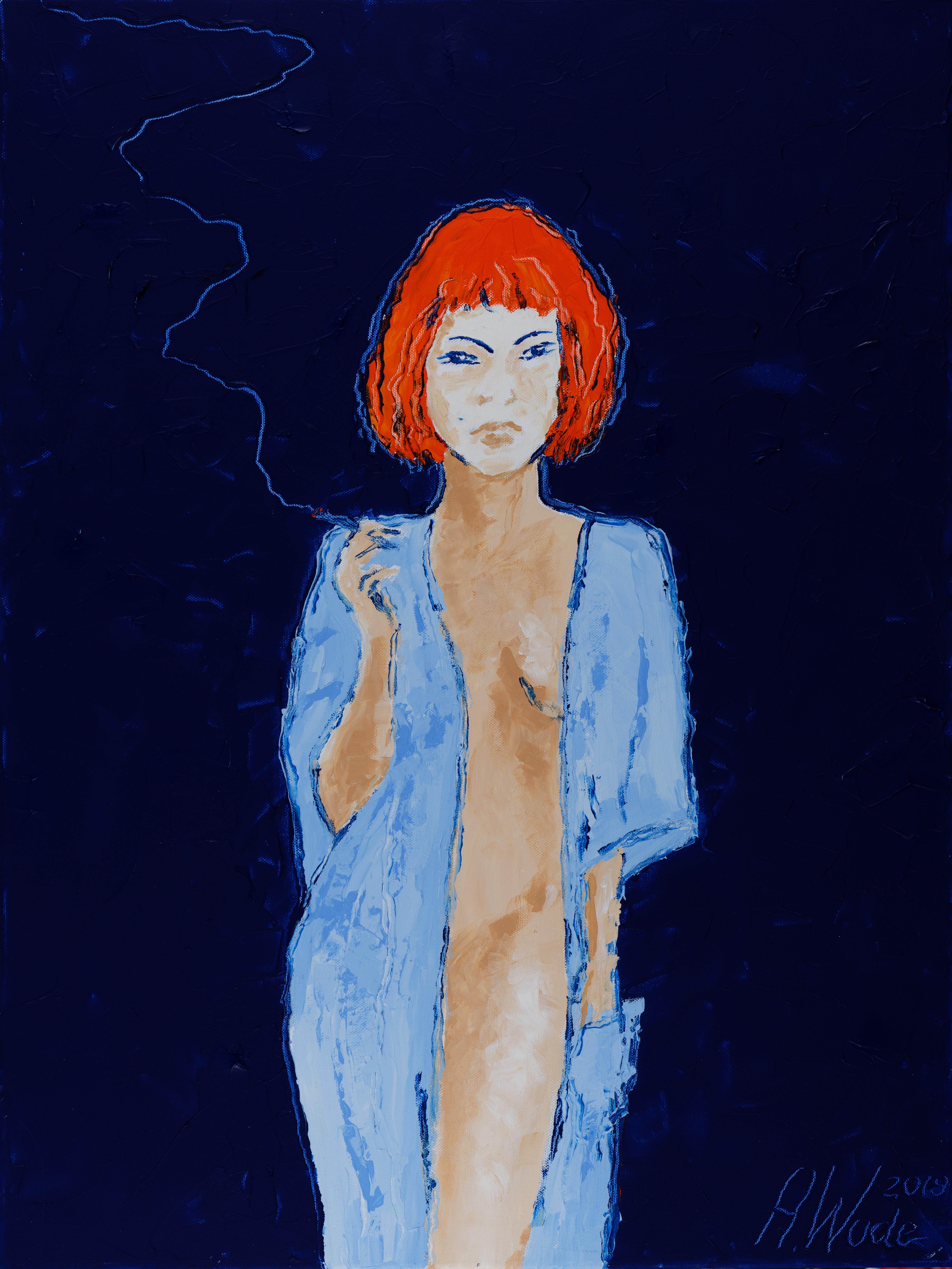 Kiki avec cigarette