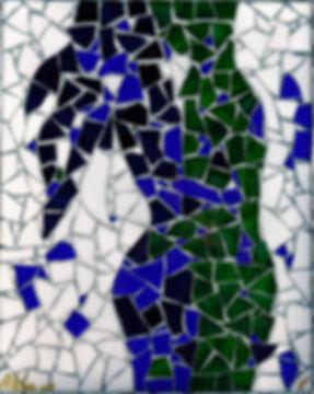 Anna Wode, mosaique, Kunst, art