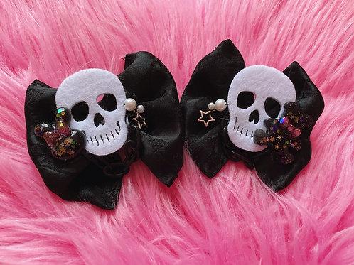 Skull☆ita Hairbow Set