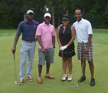 African American golfers