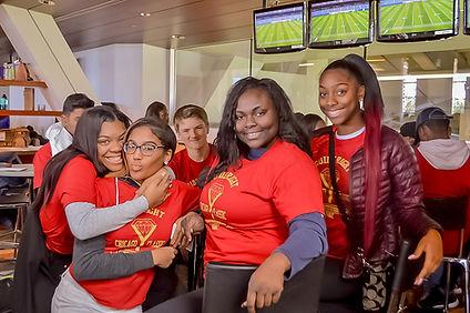 A Group of African American volunteers