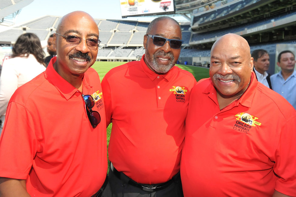 Photograph: Everett Rand, Larry Huggins and Tim Rand CFC Co-founders